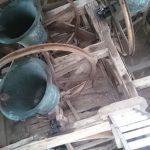 Sherington bells are up