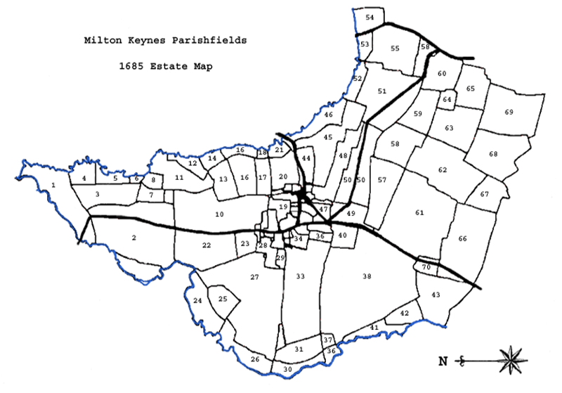 Milton Keynes Estate 1685