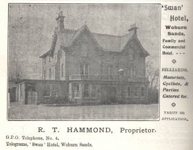 Advert from the 1908 directory