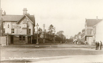 The High Street and Swan, Woburn Sands