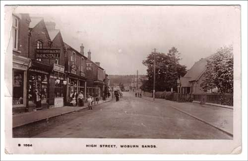 Woburn Sands - High Street and Institute