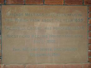 Meeting House details