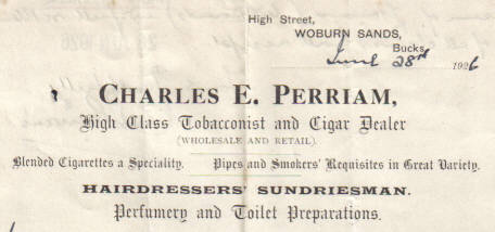 Perriams tobacconist, Woburn Sands