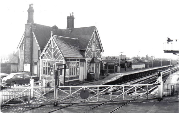 Woburn Sands Station 1976
