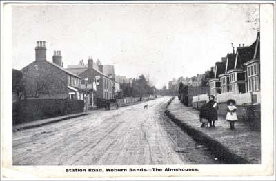 The bottom of Station Road