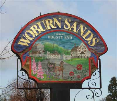 Woburn Sands Town Sign
