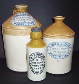 Woburn Sands bottles