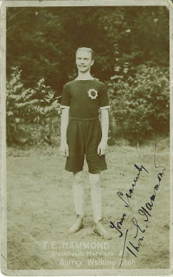 T. E. Hammond of Surrey Walking Club