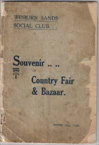 Woburn Sands - Social Club Bazaar