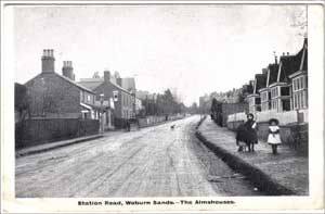 Woburn Sands - Almhouses in Station Road