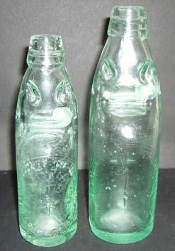 Woburn Sands glass bottle