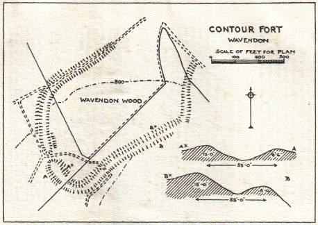 Danesborough Map