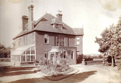 Heatherbank, home of the Page family, Aspley Heath