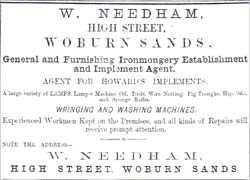 Woburn Sands - William Needhams business