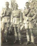 Horace's three sons in the South African Army c.1940.