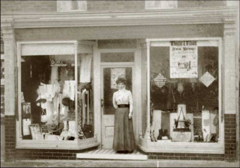 Hudsons shop front in Woburn Sands
