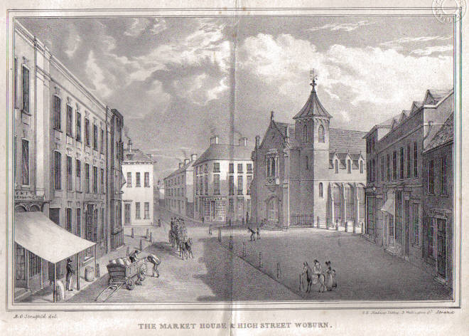 The middle of Woburn c.1831